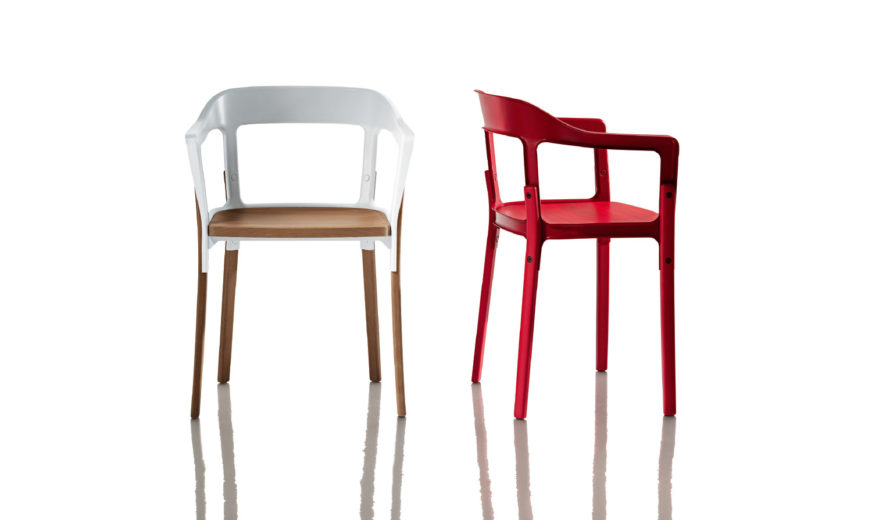 Steelwood chair magis for Magis steelwood