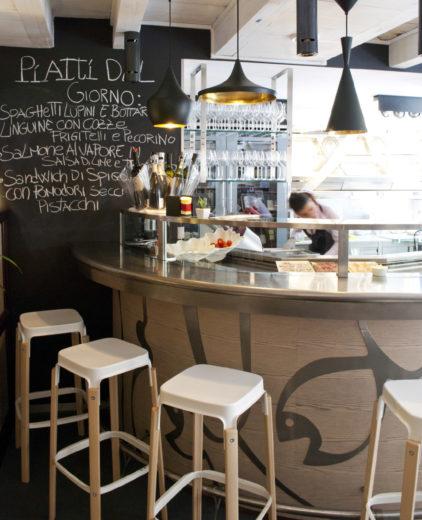 Acqua Salata Fish u0026 Lounge Rome Italy project Tecnoarredamenti & Steelwood Stool | Magis islam-shia.org